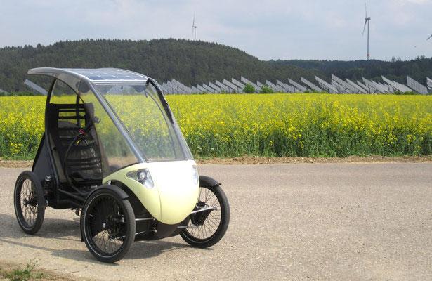 foto: Pedilio solar velomobile 25 km/h 45 km/h