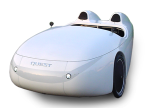 foto of Duoquest - sociable velomobile tandem for two