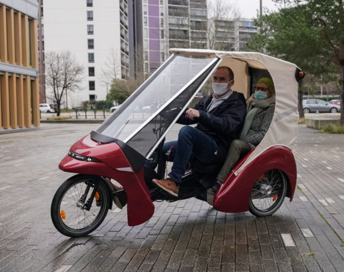 foto of Urbaner by HPR Solutions - tricycle trike pedelec e-bike with weather protection and passenger transport